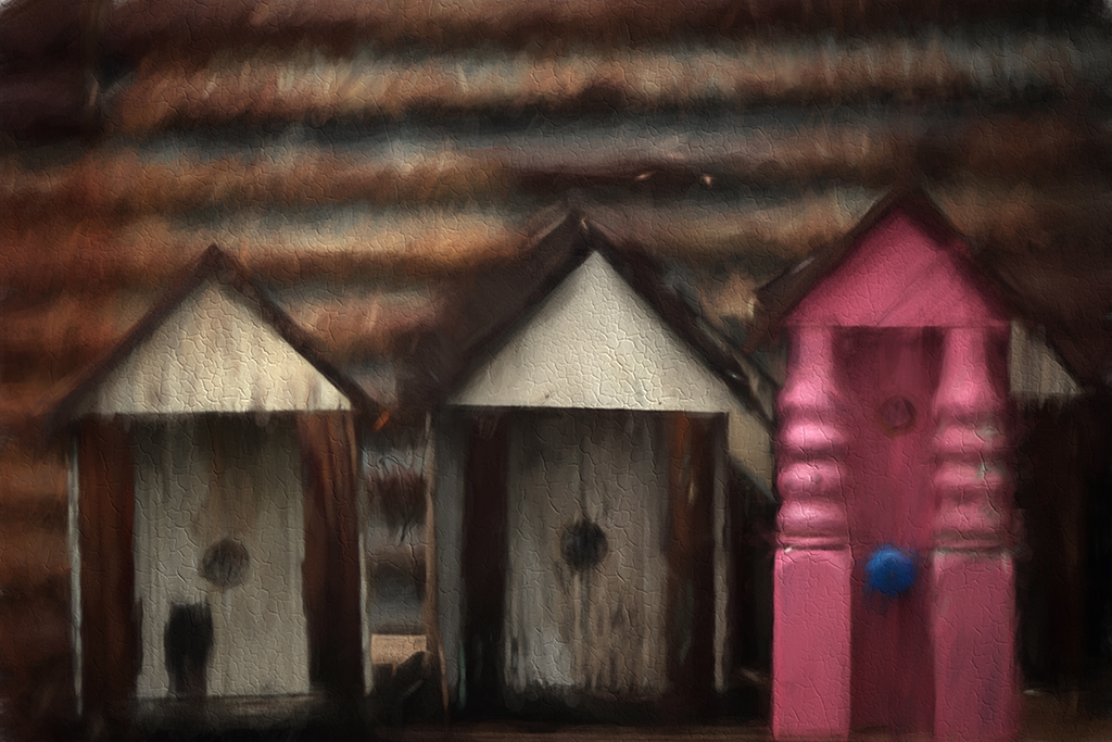 Clines Bird houses painting for fb