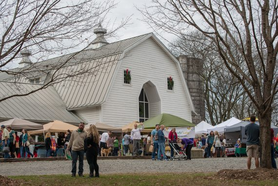 A Trip to the Winter Wonderland Craft Fair at the Dairy Barn
