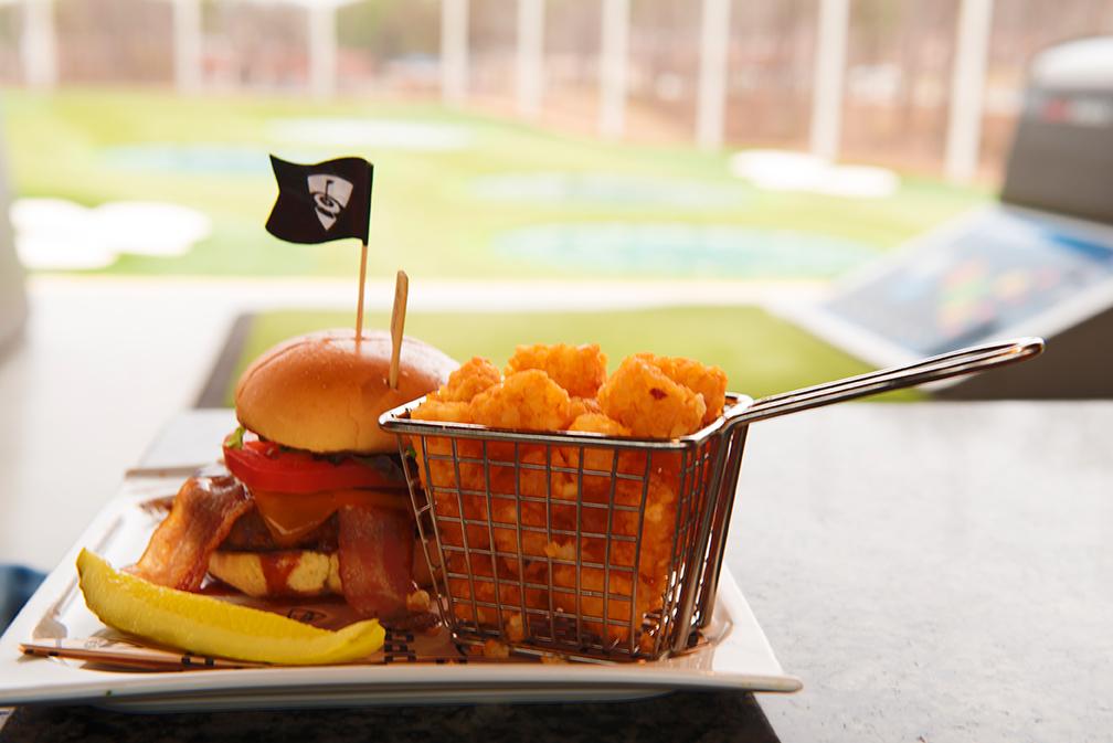 Atlanta Top Golf Food for blog